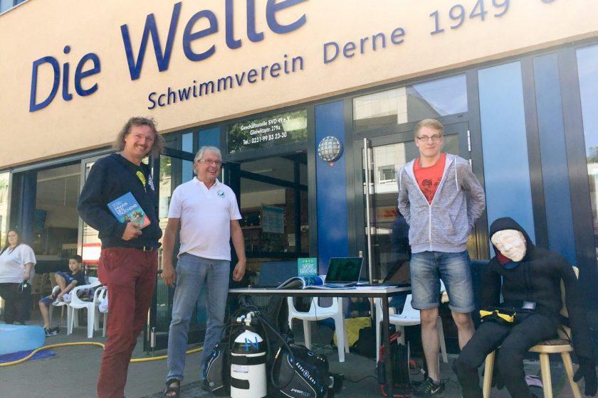 Aktiv beim Sommerfest des EKS Scharenhorst
