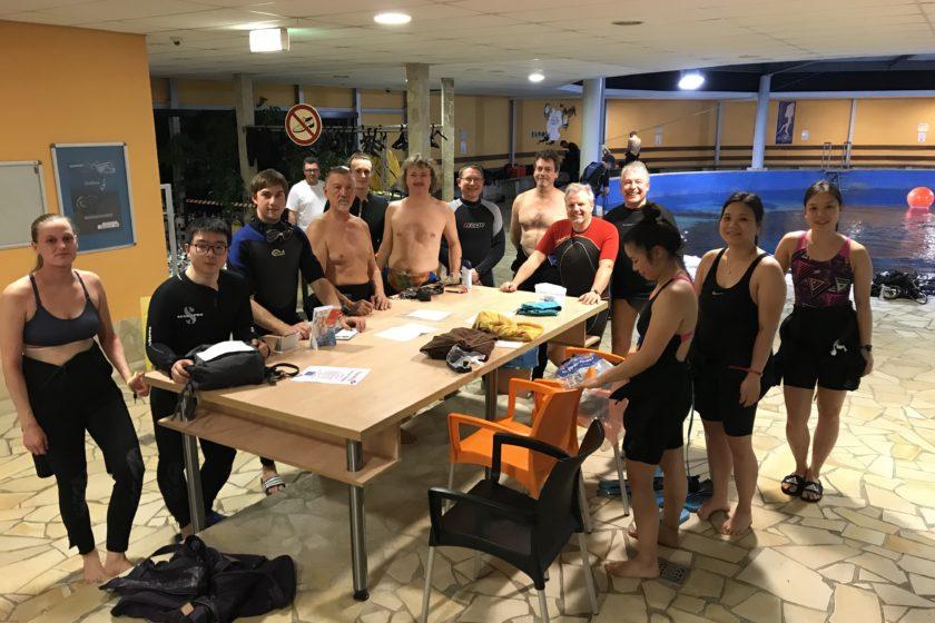 Tauchfahrt Dive4Life Frühjahr 2019