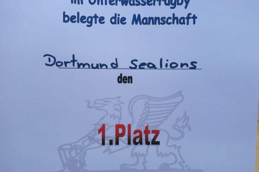 1. Platz beim Rostocker Greif