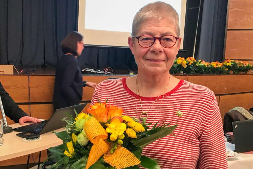 40 Jahre Vereinsmitgliedschaft Marlis Weber