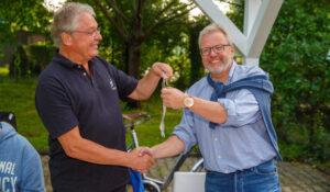 Christoph Lippinghof übergibt an Bernd Weiermann